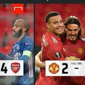 Manchester United and Arsenal's next Europa League fixtures