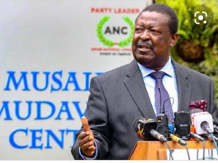 Kenyans React as Mudavadi Unmasks The State of The Government