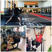 Photos Of Jordan Henderson, Cristiano Ronaldo And Other Players In The Gym