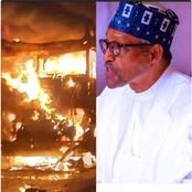 Today's News: Fire Breaks Out In Aso Rock, 20 People Killed And Over 30 Injured In Car Bomb Blast