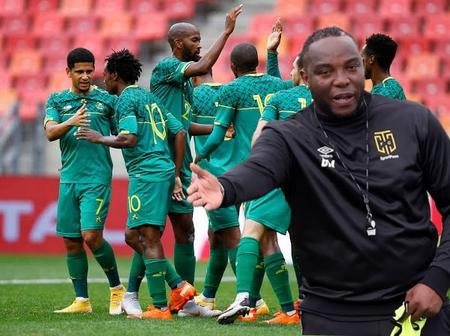 McCarthy Raises His Hand For The Role Of Bafana Coach, However SAFA Wants Pitso
