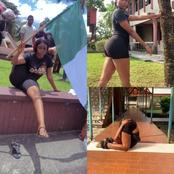 Remember The Girl From ENDSARS Protest? See More Photos Of Her Twisting Herself That Got Reactions