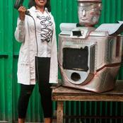 Congo: Thérèse Kirongozi fabrique des robots policiers pour réguler le trafic routier