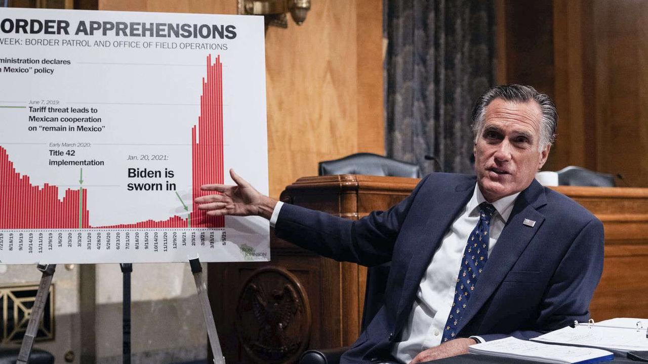 Why Mitt Romney says Biden administration refusal to admit border crisis is 'extremely damning'
