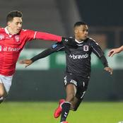 Bafana young star shines against Uefa champions league.