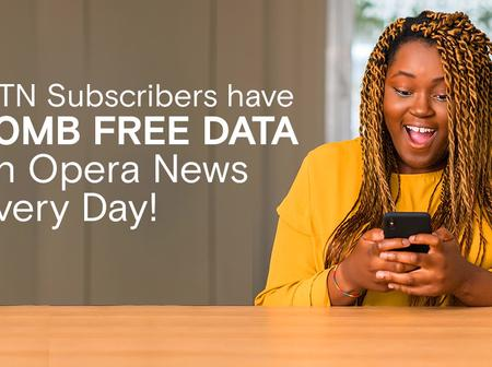 MTN Users Can Claim 20MB Free Data Every Day On Opera News