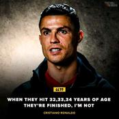 Cristiano Ronaldo Was Spot On. See What He Said About Himself Which He Has Gone On To Prove Right.