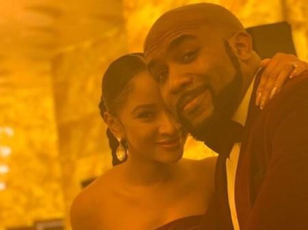 See How Popular Artist, Banky W react over his wife's timeless beauty