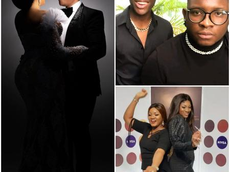 Beautiful pictures of Omosexy's grown up children from her 25 years marriage (Photos)