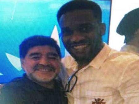 JJ Okocha, others react to Maradona's death