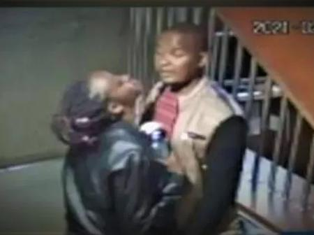CCTV Footage Emerge of Deceased Velvine, Showing Affection To Prime Suspect Joseph Murimi.