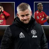 Bad News For Manchester United As Four Key Players Are Ruled Out From Facing Chelsea