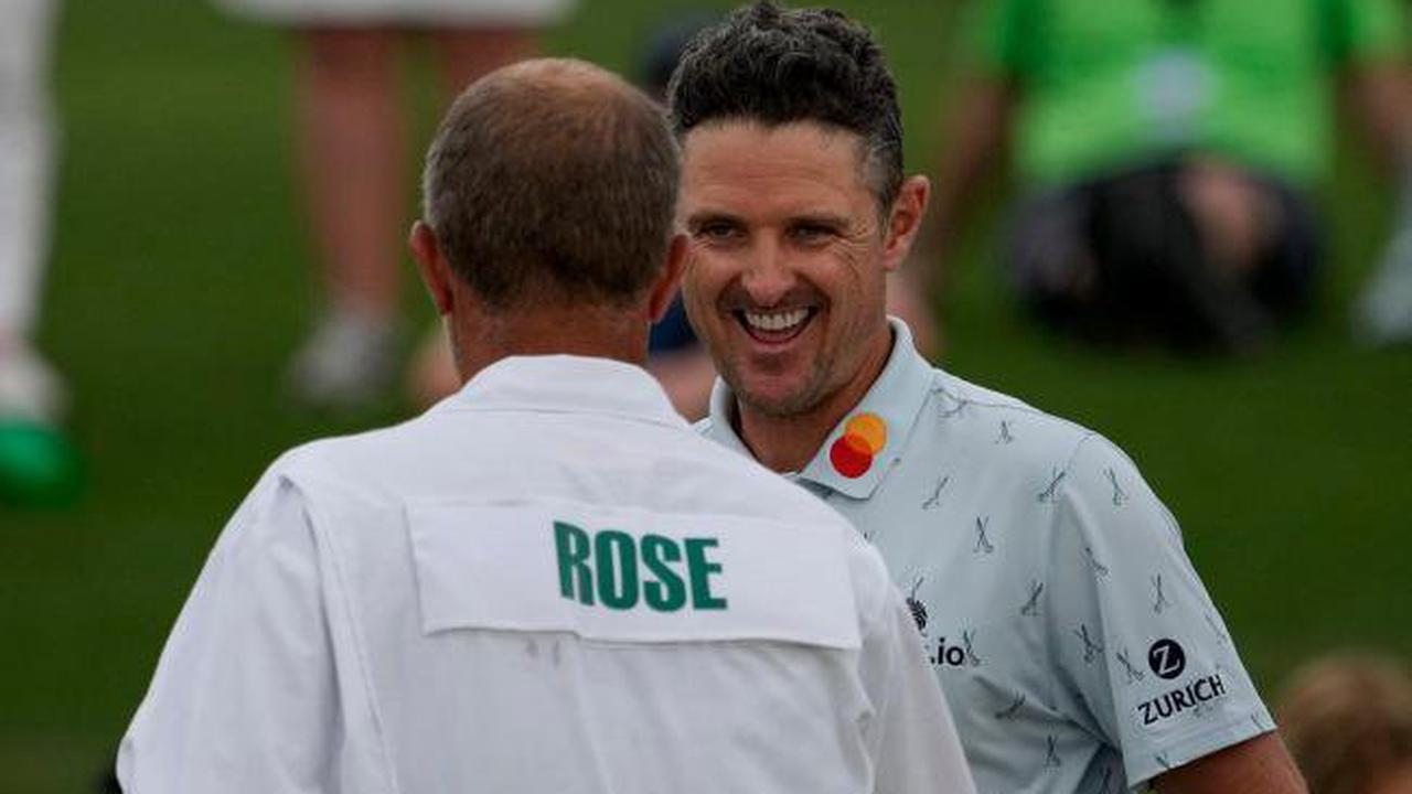 Masters day one: Justin Rose leads the way with superb 65