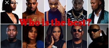 Who Is The Best Musicians In Nigeria? Here's How They Are Ranked