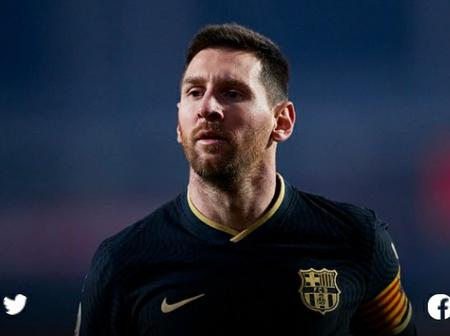 Manchester City make Messi decision- Report