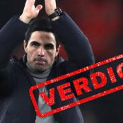 Arteta's Job Mighty Be On The Line If He Crashes Out Of Europa league At Slavia In The Quarters