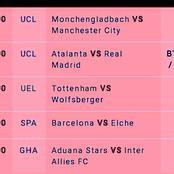 Mega Winning GG,Over 2.5 Goals VIP Matches Including Hoffenheim,Napoli,Ajax This Thursday 25th Feb