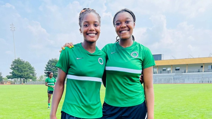 Evelyn Ijeh (left) and Josephine Ijeh (right).
