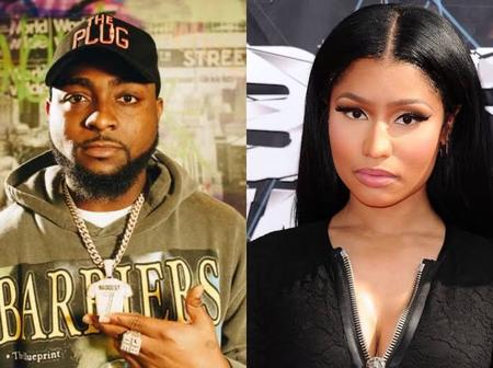 See Why Davido And Nicki Minaj's Fans Shaded One Another On Twitter (Photos)