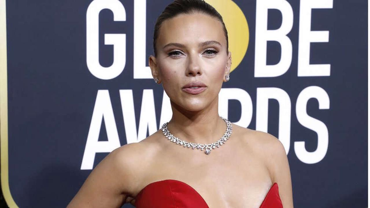 Scarlett Johansson joins Golden Globes backlash