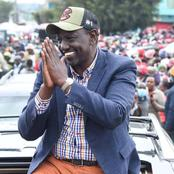 Ruto Responds To His Opponents While Visiting Murang'a