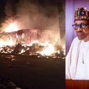 Today's Headlines: Fire Guts Onitsha Plastic Market, Bandits Attack Military Base in Buhari's State