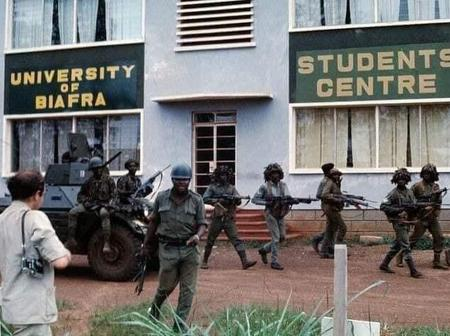 Checkout University of Biafra in 1967 which later changed to University of Nigeria, Nsukka.