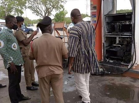 U/W: Fire Raise GOIL Fuel Station in Upper West