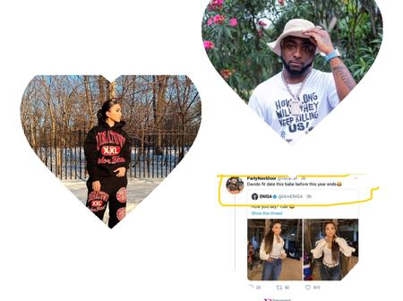 After a man said Davido will date this American Singer, see what she said