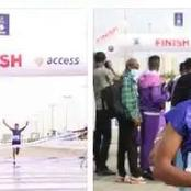 After An Ethiopian Lady Won The Lagos Marathon, Checkout How Much She Will Go Home With.