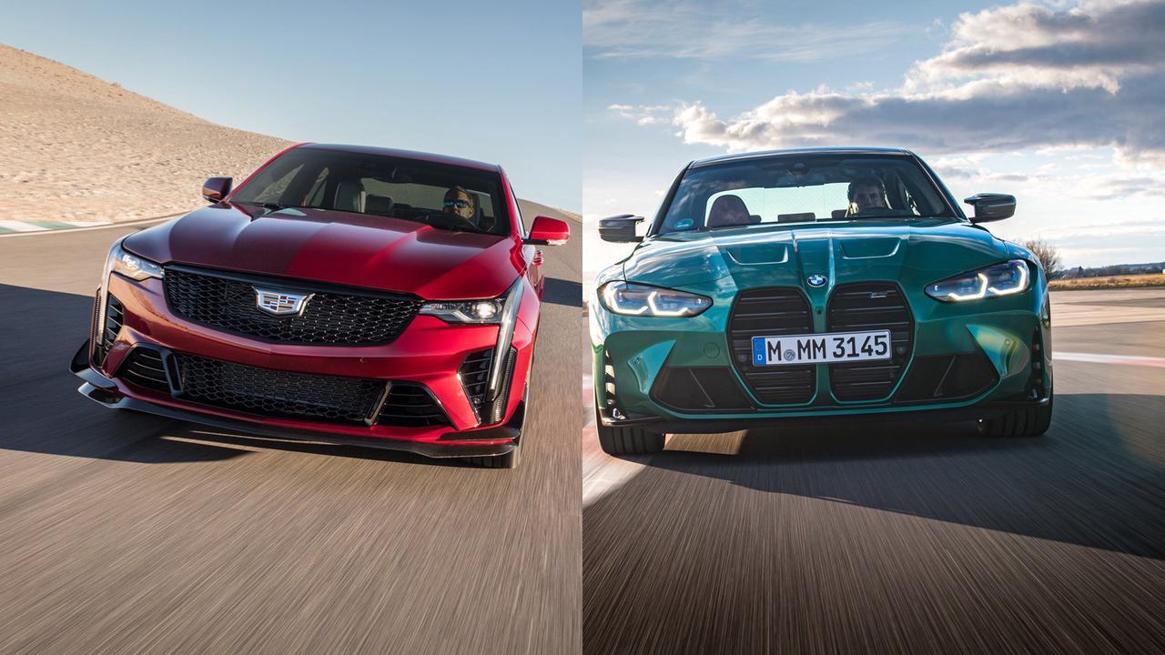 Caddy CT4-V Blackwing vs. BMW M3 Sedan: Which High-Performance Sedan Is Better?