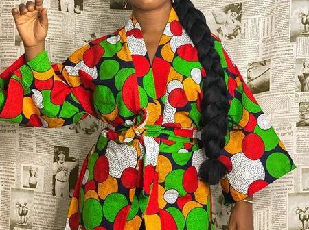 Beautiful Ankara Prints Kimono Jacket Styles Perfect For The Season