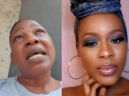 Actress Ada Ameh In Tears, As She Pleads With President Buhari To Allow Her Bury Her Daughter