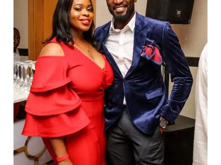 Beautiful Pictures of Kenneth Okolie and Family