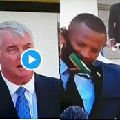 Watch: Mzansi Fuming After A Black Leader Faces Racism Live On TV