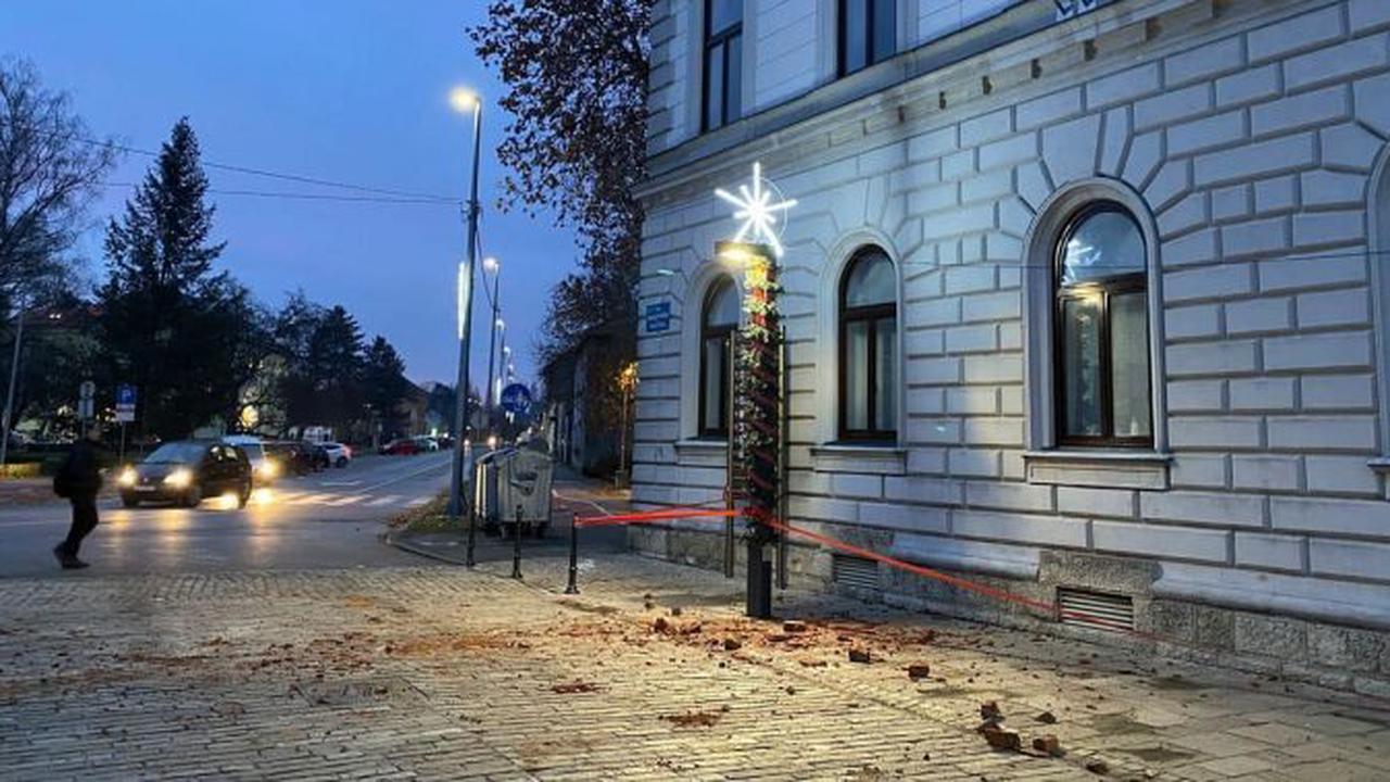 Croatia hit by 6.2 magnitude earthquake