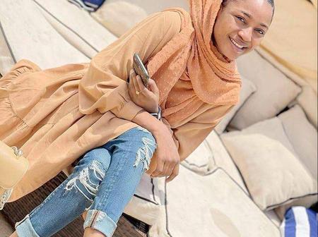 Actress Maryam Yahaya Shares new photos wearing Ankle Bracelets