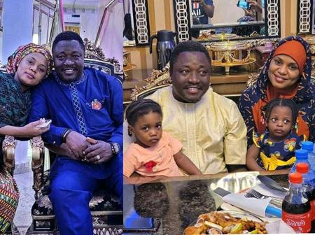 Popular Hausa Actress, Fati Ladan Celebrates Wedding Anniversary With Beautiful Family Pictures