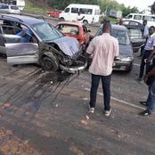 Voici les images du grave accident de la circulation créant un embouteillage monstre à Yopougon