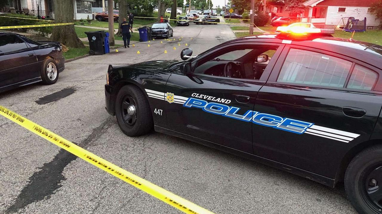 Woman shot near cemetery on Cleveland's East Side