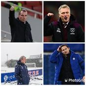 Moyes, Pep Guardiola, Rodgers, Thiago Silva And Roy Hogdson React As Chelsea Sack Frank Lampard