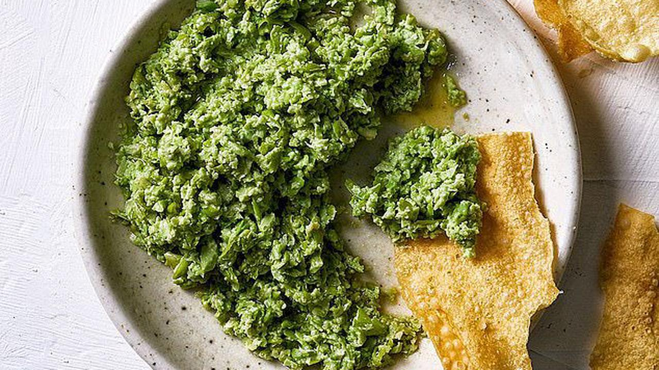 Top chef shares his two-minute recipe for edamame dip - and it's so simple, ANYONE can make it
