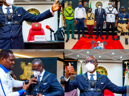 The Body Camera That Will Be Worn By Security Operatives, See What Sanwo-Olu Said It Will Reduce