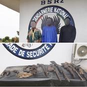 Bouaké: plusieurs armes de guerre saisies dans une opération de la BSR2