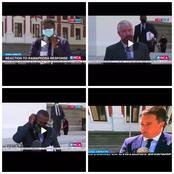 ENCA Journalist discriminated blacks people over whites during interviews.