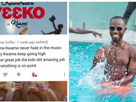 Okyeame kwame Shares his Fans YouTube Comments on his Pages to Thank them