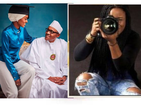 Meet Hanan, The Beautiful Daughter Of President Buhari Who Is A Professional Photographer