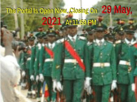 Nigerian Military School (NMS) Begins sale of forms for 2021/2022 session.