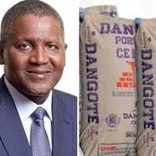Dangote Explains Why It Is Not Profitable For Him To Sell Cement In Nigeria