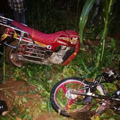 Motorbike Veers Off The Road, Disintegrates Into Two, Leaving One Person Dead